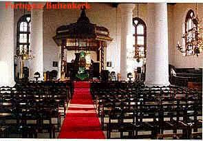 Portugese Buitenkerk, centrum Jakarta