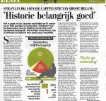 Indie-herdenking Telegraaf Wat U zegt