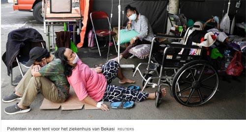 covidpatientenbekasi indonesie
